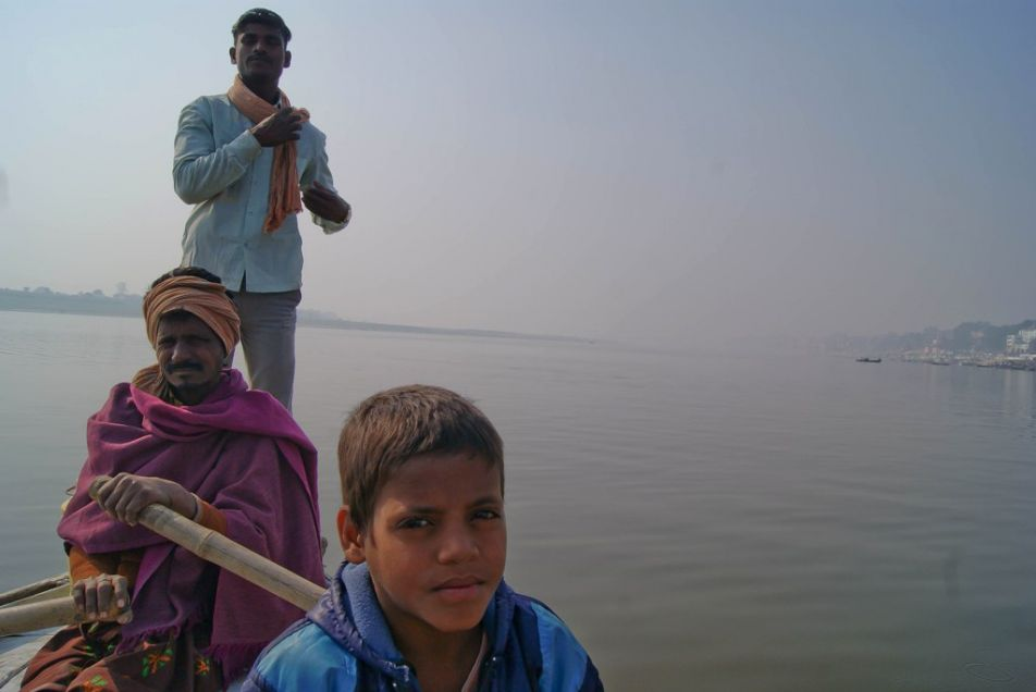 Boatmen in Varanasi