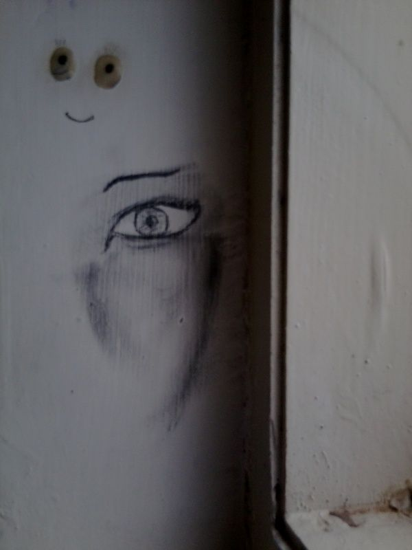A face on the wall